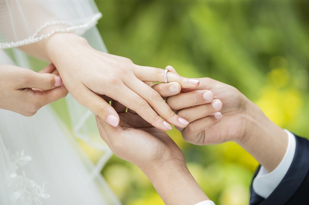 指輪の交換の歴史と意味