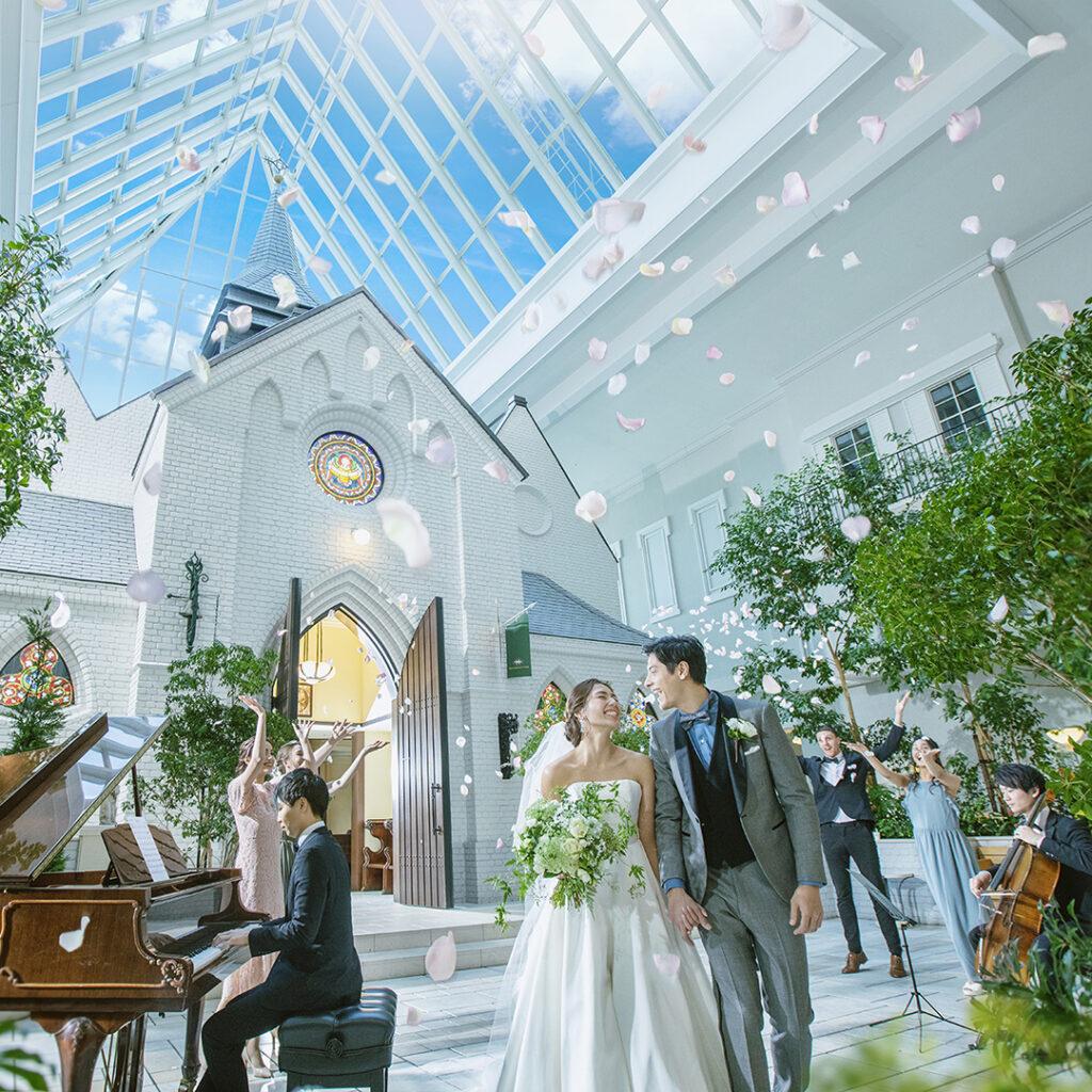 ラ・スールで叶う理想の結婚式